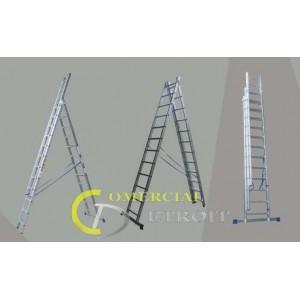 Escalera aluminio 2x7D - 4.24M