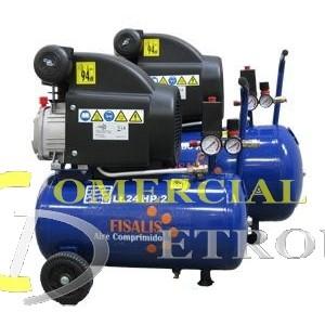Compresor monofásico 25 litros- 2CV