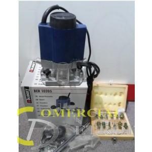 Fresadora eléctrica  230V    11500-34000 RPM