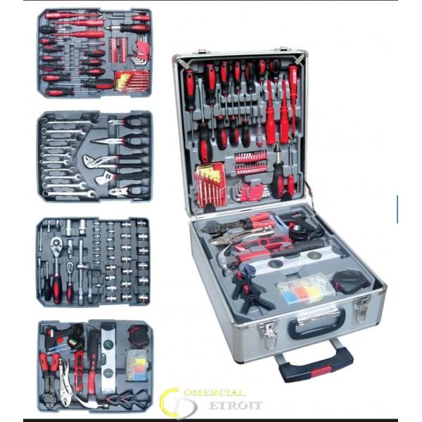 Caja de herramientas profesional de aluminio comercial - Maletin de aluminio para herramientas ...