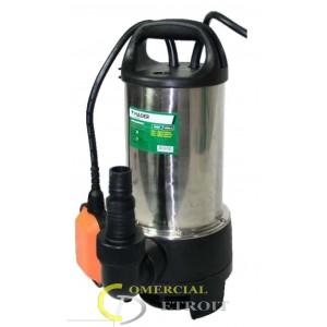 Bomba sumergible 900W. Aguas sucias