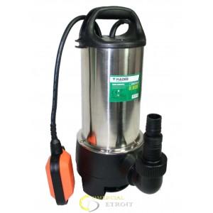Bomba sumergible 1100W. Aguas sucias