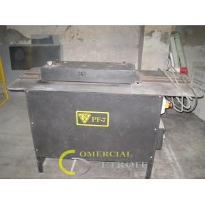 Maquinas industriales para metal. Cizalla, plegadora, perfiladora y elevador